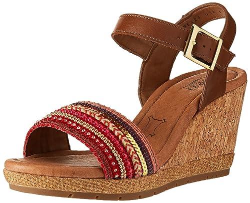 Xilitla Zapatos Para De Mujer 35602 Flexi Tacón WED92HI