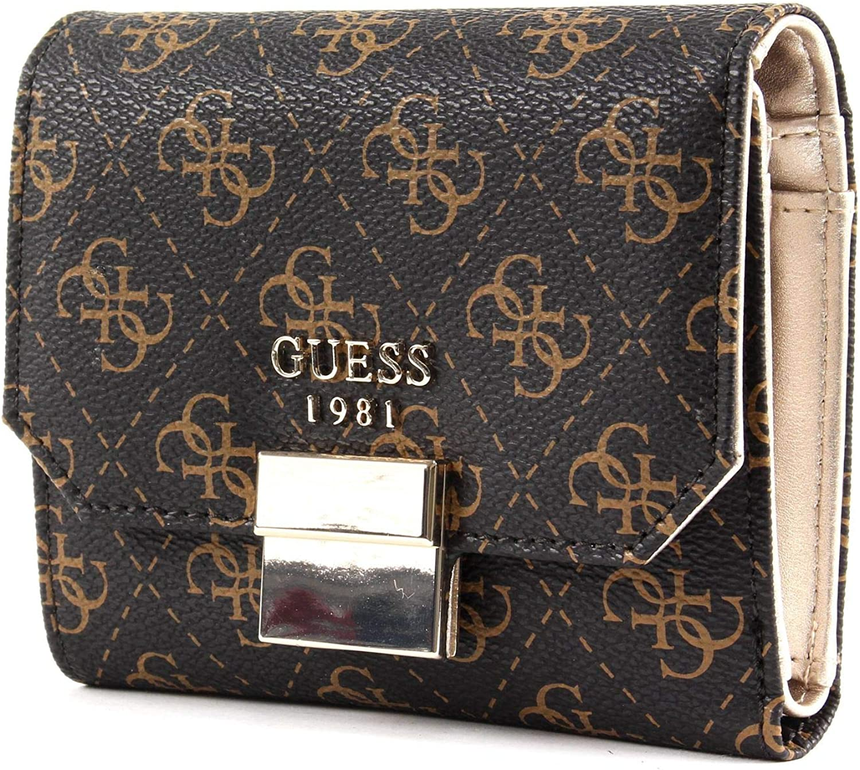 GUESS MIA Small Trifold Blush Damen-Geldbörse Portemonnaie Wallet