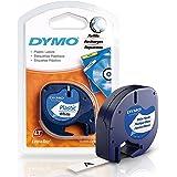 Dymo LetraTag Tape Plastic 91201 12mm x 4m