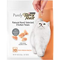Purina Fancy Feast Purely Natural Hand-Selected Chicken Cat Treats, 30 gm