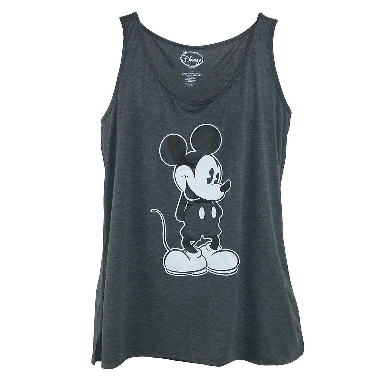 Disney Women's Plus Size Mickey Mouse Tank Top