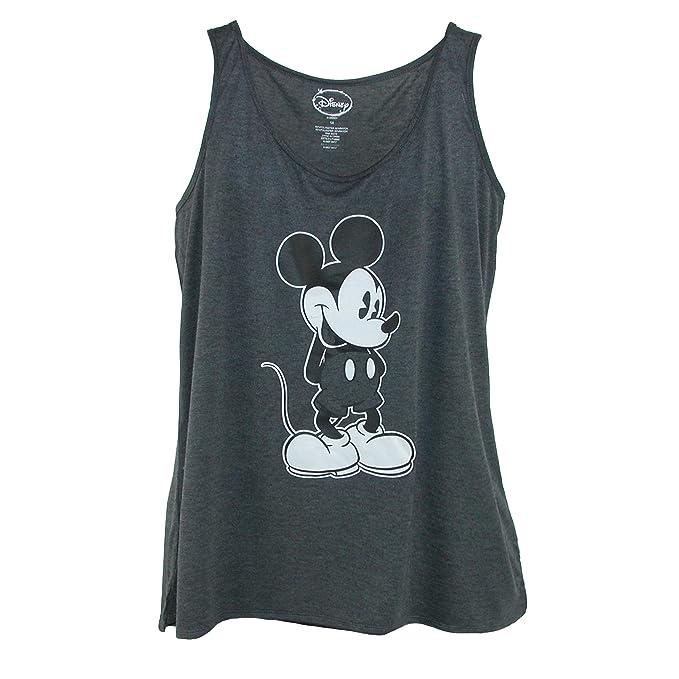 44759192c3c Amazon.com  Disney Women s Plus Size Mickey Mouse Tank Top  Clothing