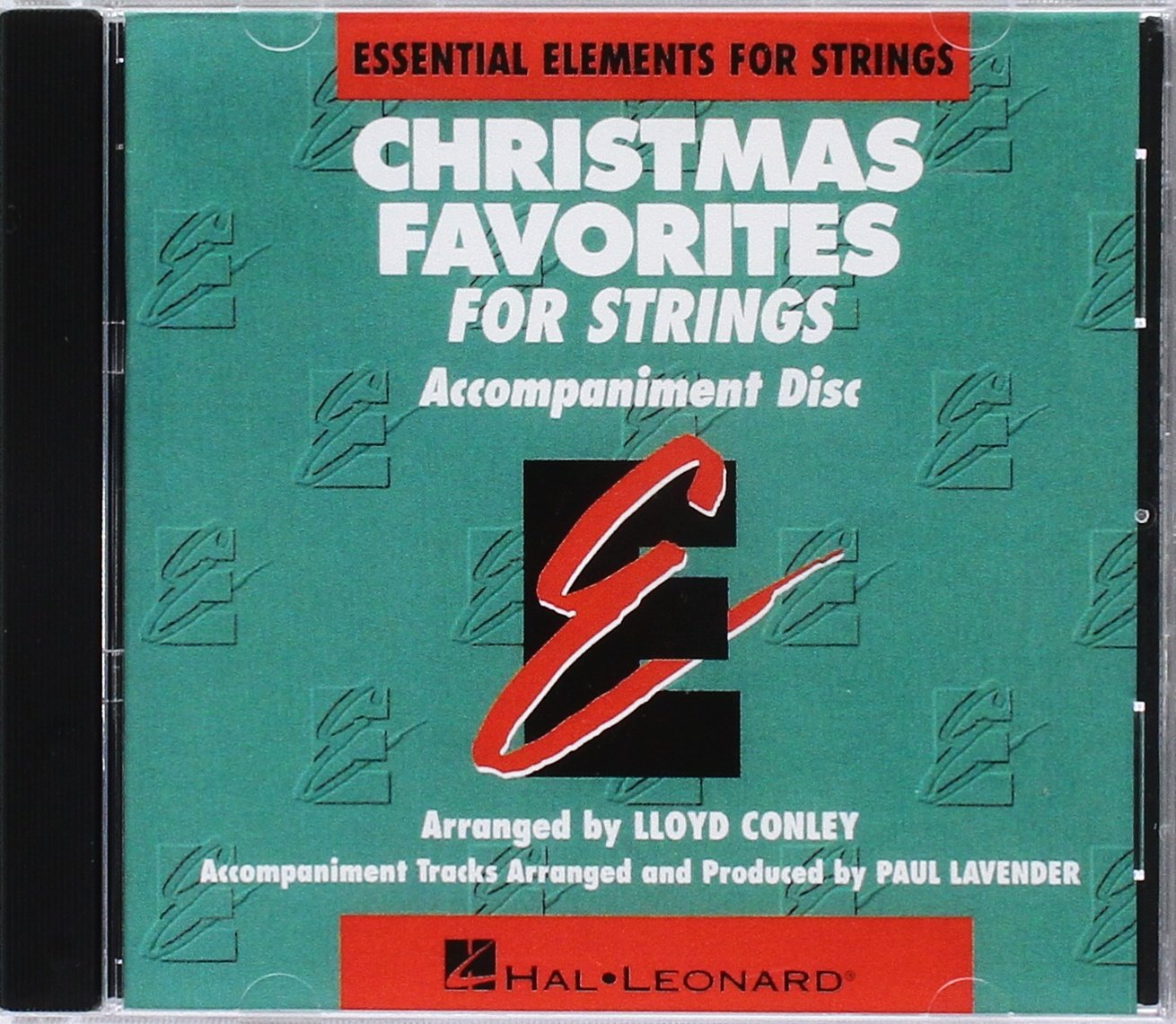 Essential Elements Christmas Favorites for Strings by Hal Leonard