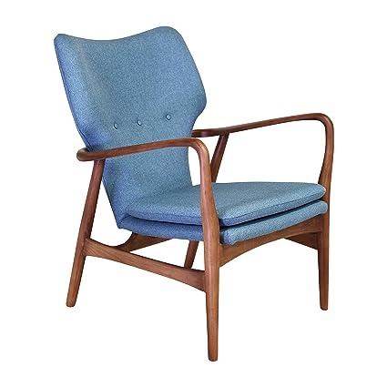 Terrific Amazon Com Midcentury Modern Finn Juhl Style Model 1 Accent Unemploymentrelief Wooden Chair Designs For Living Room Unemploymentrelieforg