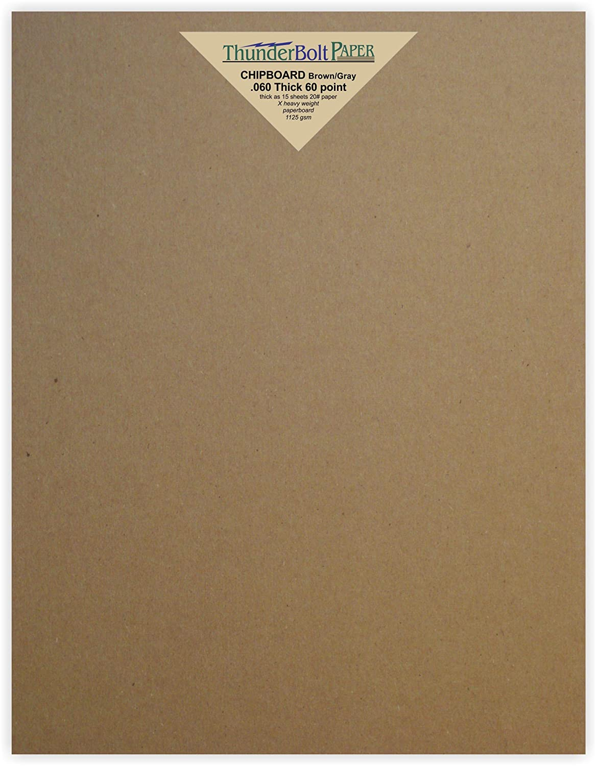 Heavy Weight Brown Kraft Cardboard for Scrapbooking /& Picture Frame Backing Point .050 Caliper Thick 50pt Paper Board 50 Chipboard Sheets 11 x 17 inch MagicWater Supply