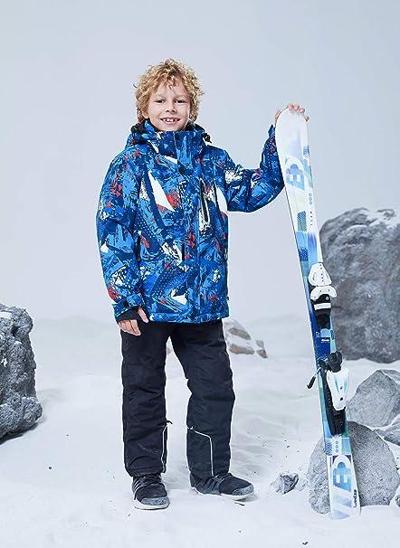 Amazon.com: WOWULOVELY - Chaqueta de esquí para niño ...