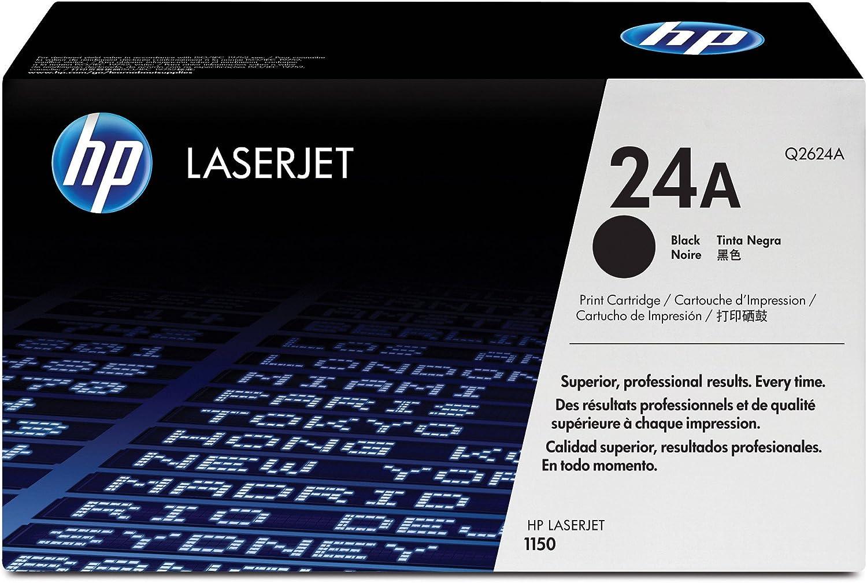 HP 24A | Q2624A | Toner Cartridge | Black | DISCONTINUED BY MANUFACTURER