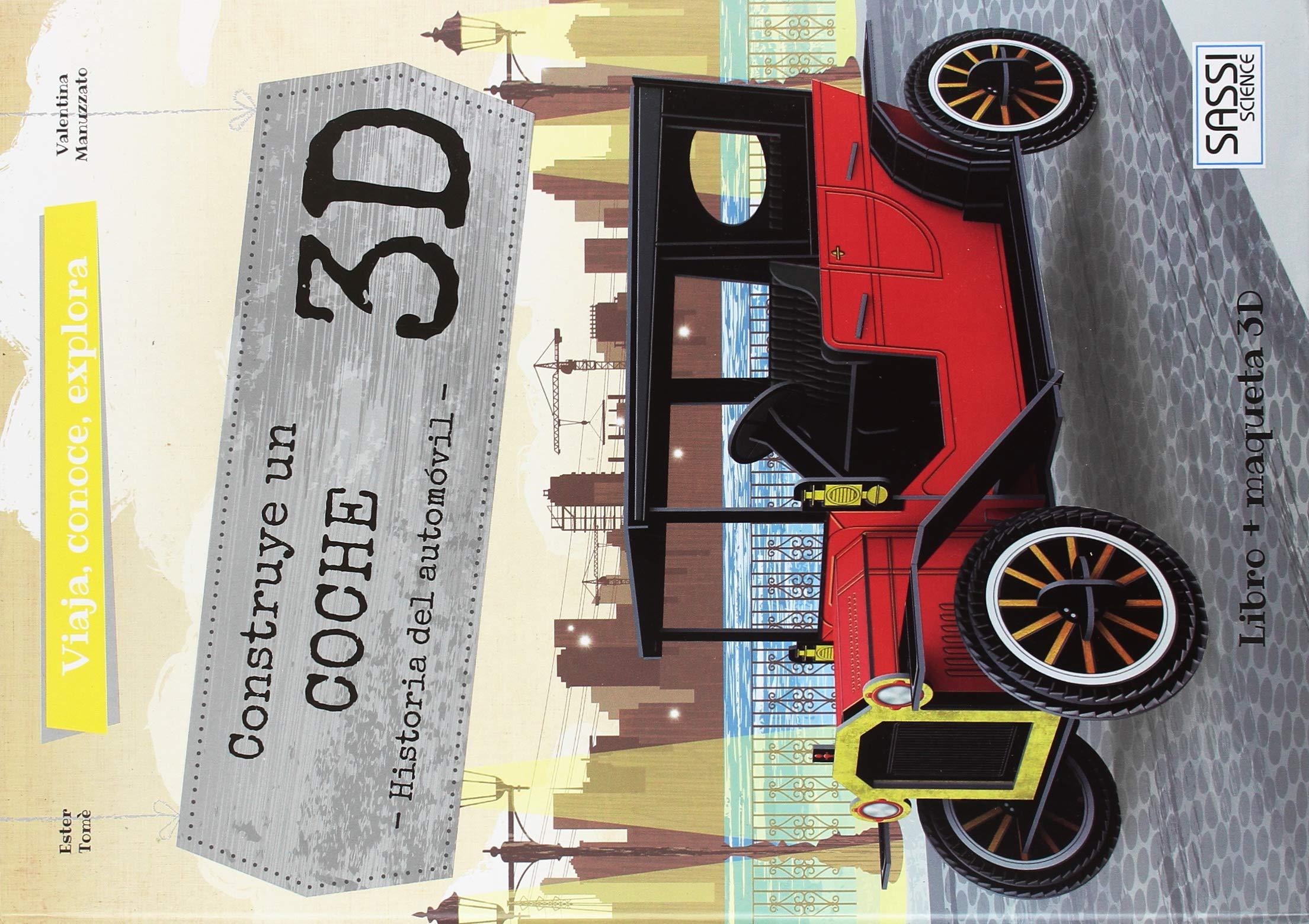 CONSTRUYE EL COCHE EN 3D: 9789463541725: Amazon.com: Books