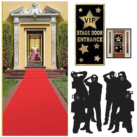 Amazon.com: Hollywood Red Carpet Awards Ceremony Party Theme ...