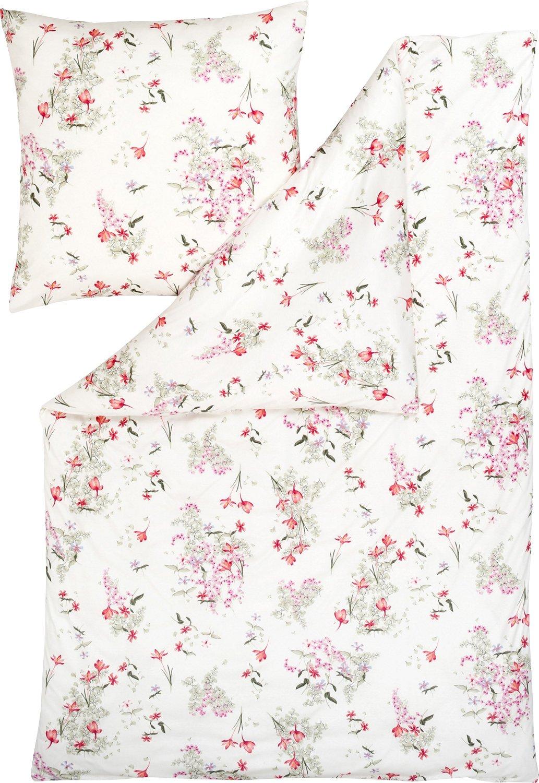 Estella Bettwäsche Marisa Interlock-Jersey pink Größe 135x200 cm (80x80 cm)