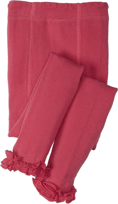 Jefferies Socks Girls  Pima Ruffle Footless Tight