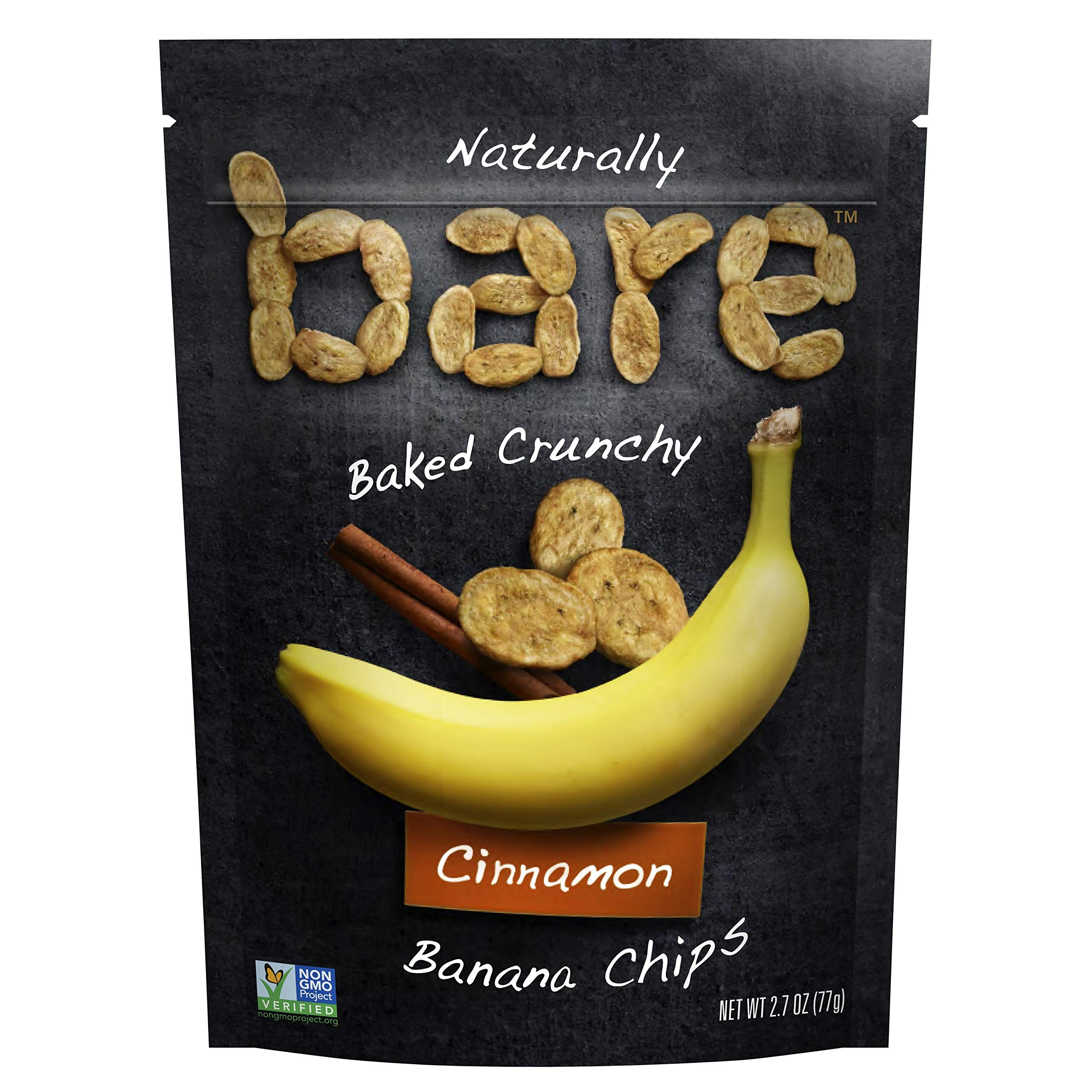 Bare Snacks Cinnamon Banana Chips, 2.7 oz