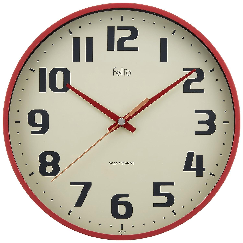 Felio 壁掛け時計 チュロス FEW182R-Z