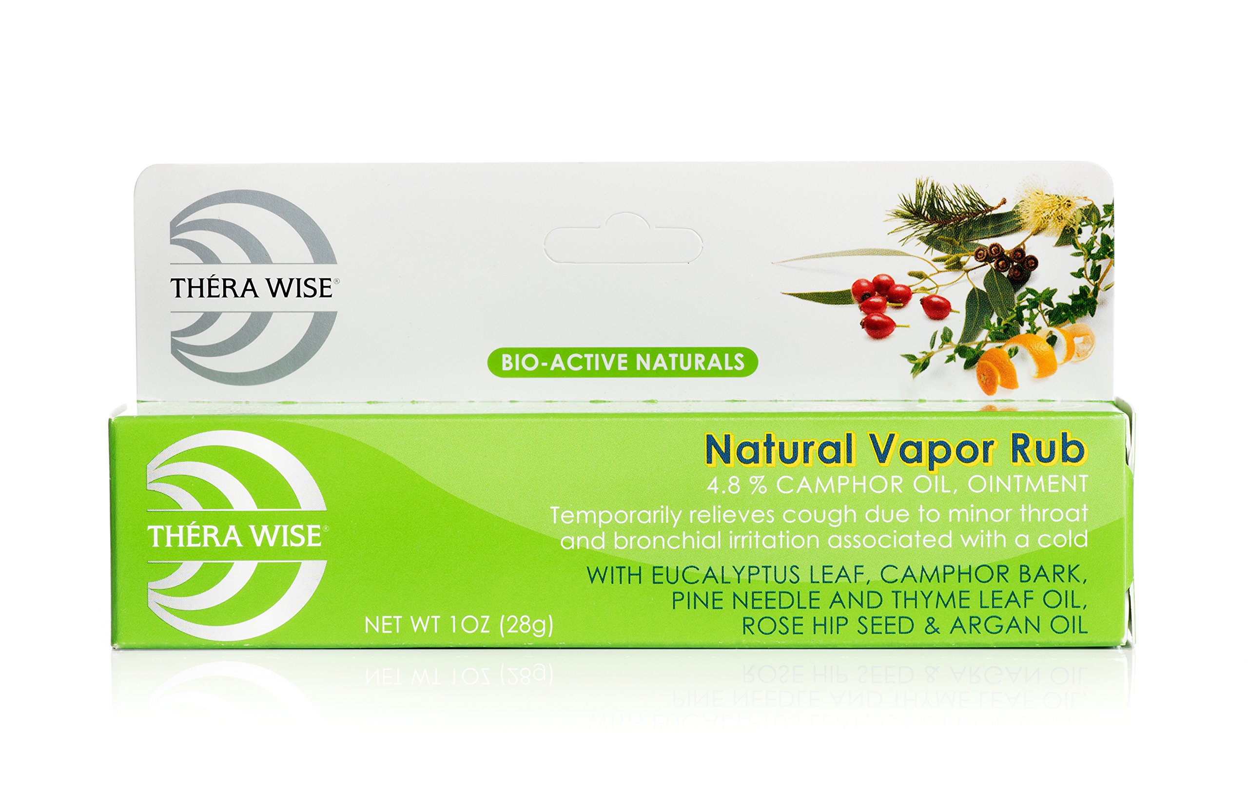 Thera Wise Natural Vapor Rub, The perfect natural alternative for colds, coughs and allergies