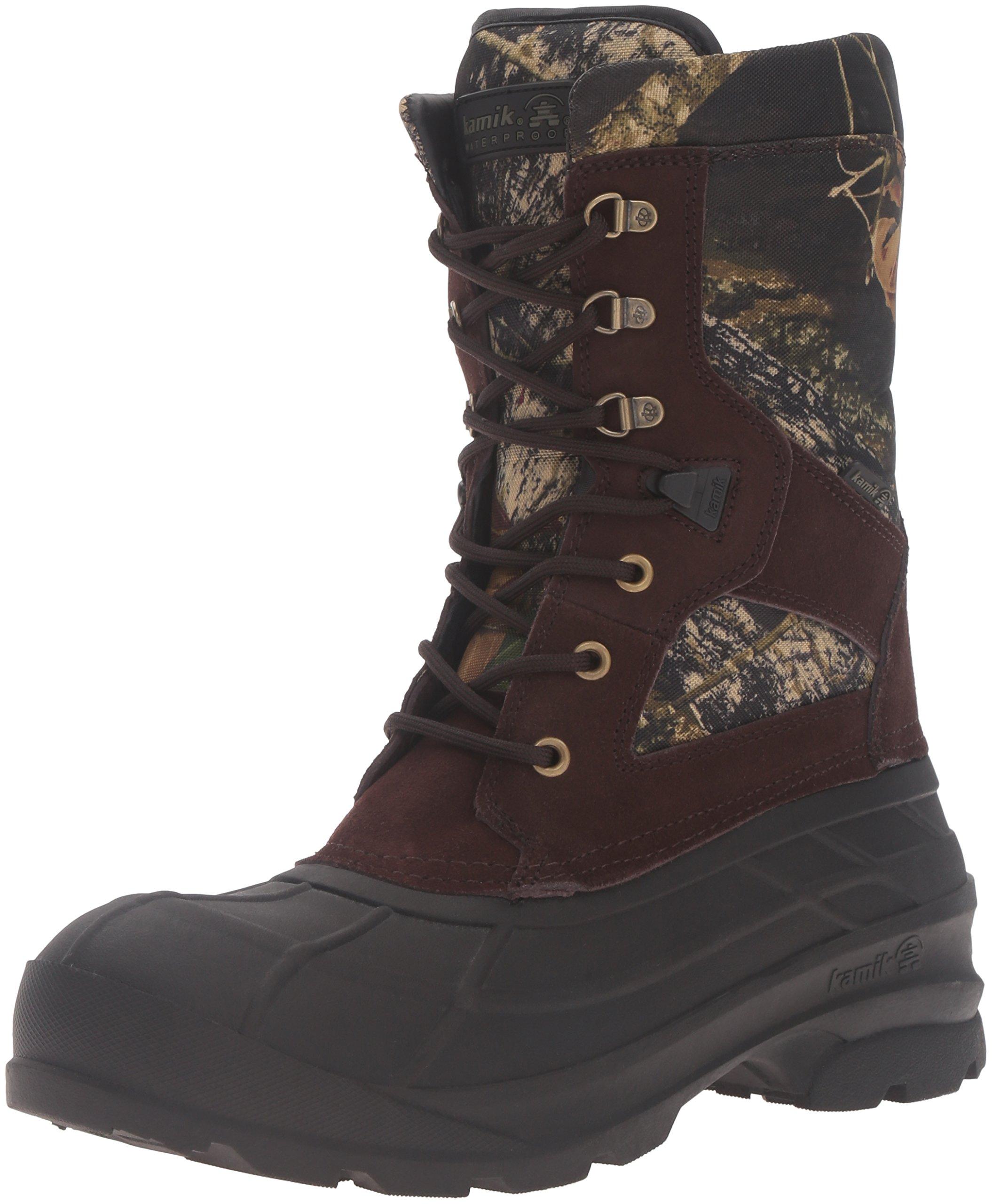 Kamik Men's NationCam2 Snow Boot, Camouflage, 14 D US