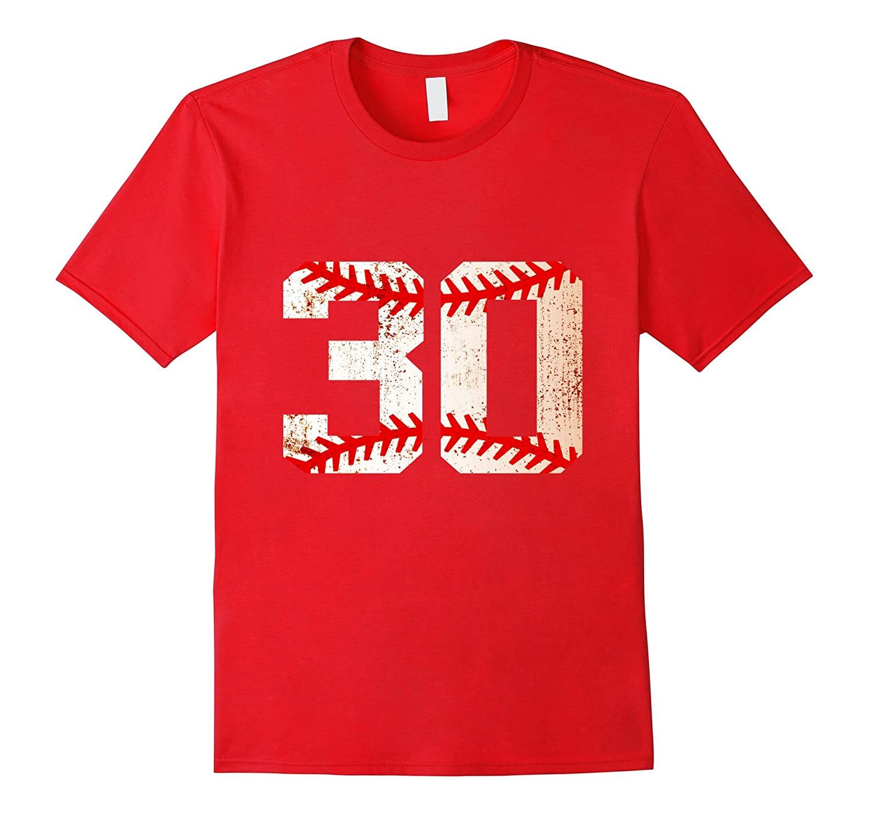 30th Birthday Gifts 1987 Baseball funny Shirts-PL