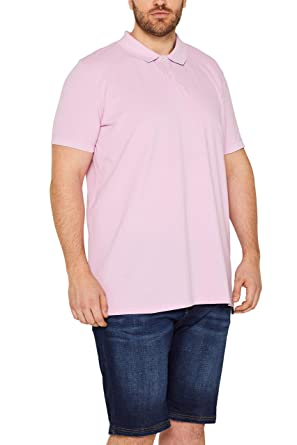Esprit 019ee2k028 Polo, Rosa (Light Pink 690), XXXX-Large para ...
