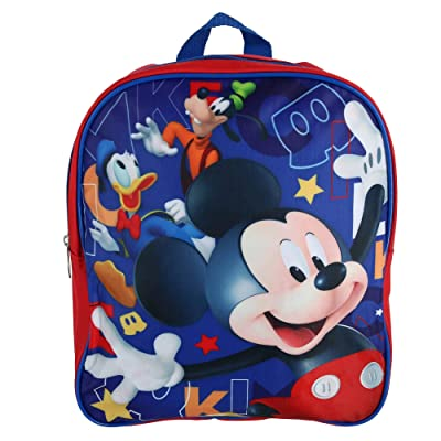 "Disney Junior Mickey And The Roadster Racers 12"" Backpack 