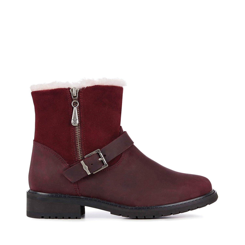 EMU Australia Roadside Womens Deluxe Wool Waterproof Boots B072MNXRGD 5 B(M) US|Red Wine