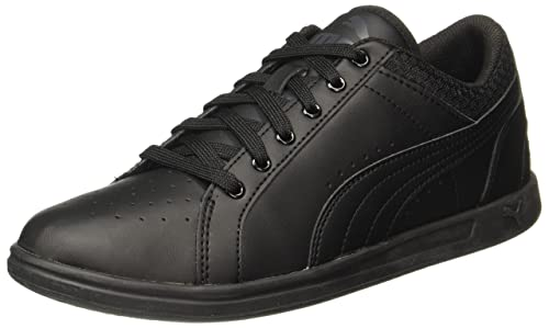 b56d66360e5 Puma Womens Ikaz Lo Trainers Sneakers Shoes Casual Lace Up Padded Ankle  Collar Black UK 7