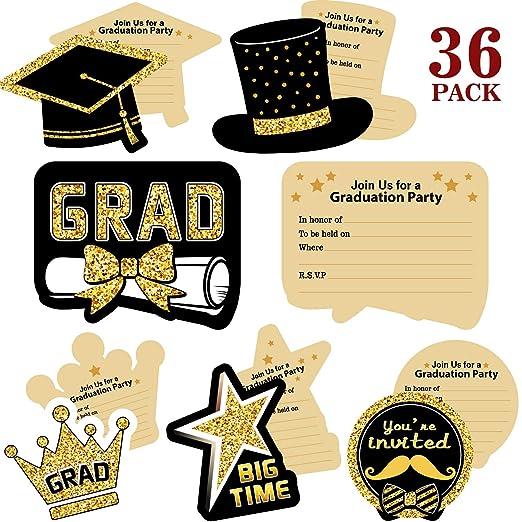 Invitación De Fiesta De Graduación 2019 36 Piezas De