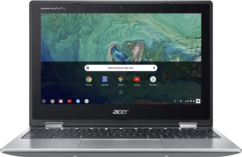 Acer Chromebook Spin 11 Intel Celeron N3350 1.10GHz 4GB Ram 32GB Flash Chrome OS (Renewed)