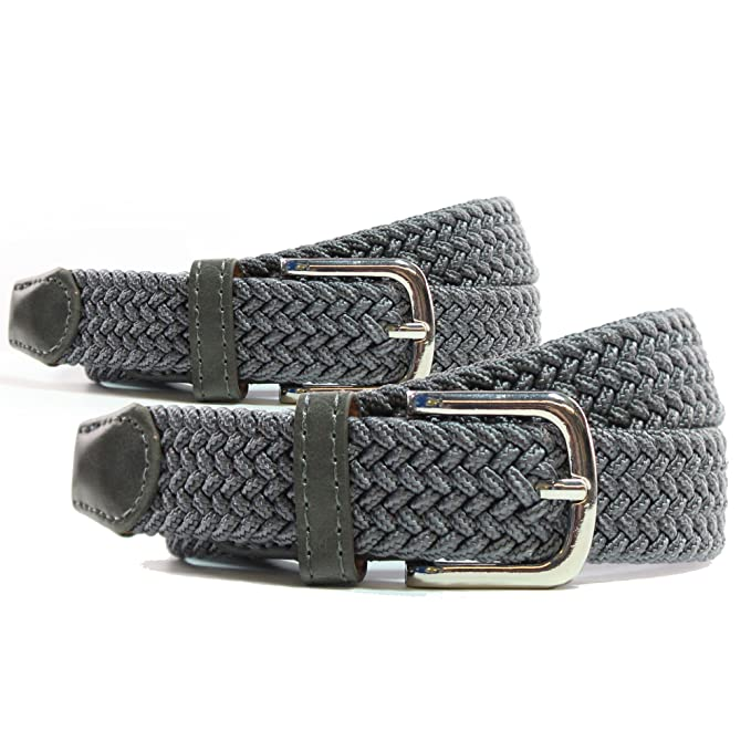 venta al por mayor gran descuento tan baratas Cinturón Elástico Mujer - Cinturón Trenzado – 25 MM – Confort Unico!