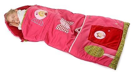 Lilliputiens 86338 - Saco de dormir infantil, color rosa