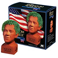 Chia Hilary Clinton Freedom of Choice Pottery Planter