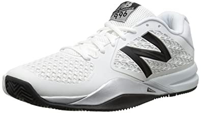 New Balance Herren, Sneaker, 996v2, Weiß (White with Black), 43