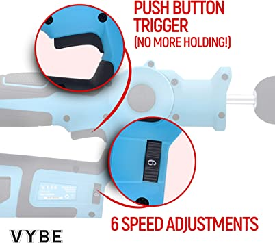 How to Use Vybe Percussion Massager Gun
