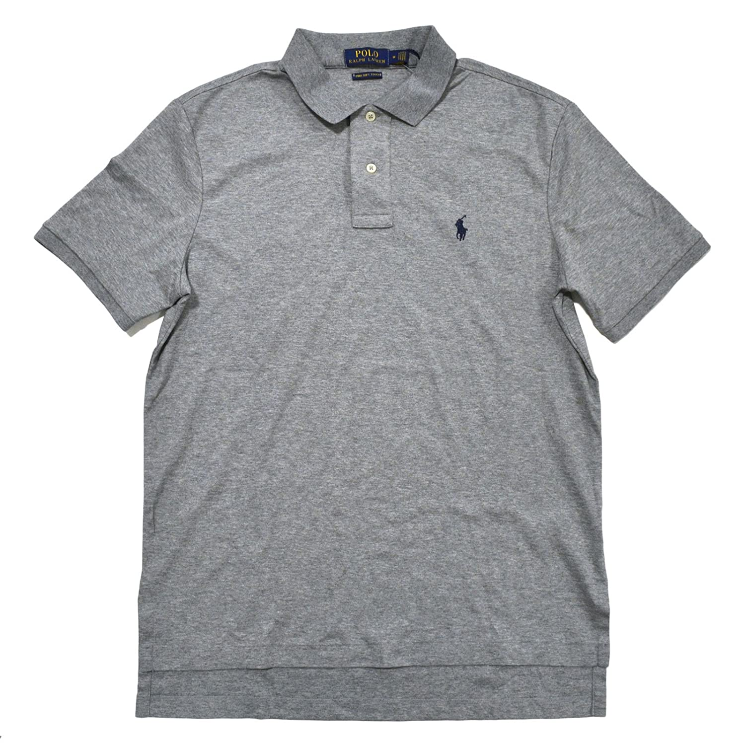 946bba3fe Polo Ralph Lauren Mens Pima Soft Touch Interlock Polo Shirt at Amazon Men s  Clothing store