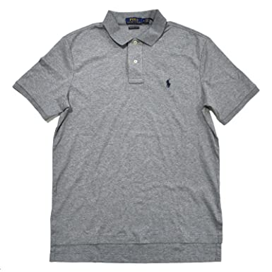 2bbd6ffb0 Polo Ralph Lauren Mens Pima Soft Touch Interlock Polo Shirt at ...