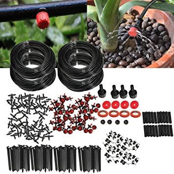 KING DO WAY Kit Irrigation Goutte À Goutte Arrosage Automatique Réglable  Micro Arroseur DIY Pour Jardin 40cc348618ef