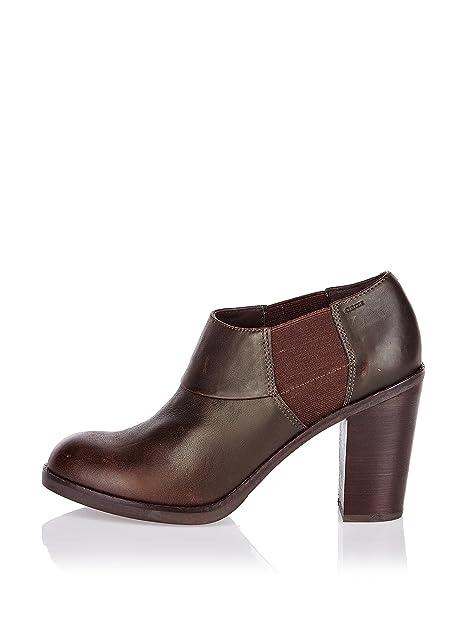 Amazon Eu Y es Zapatos Geox Complementos 40 Marrón Abotinados w1xRtX