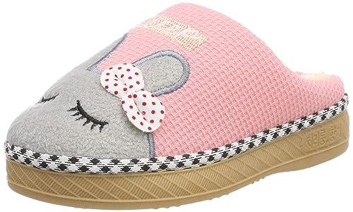c9a1aceae SITAILE Zapatillas de Casa Niños Ninas Invierno Zapatos Calzado Interiores  Caliente Suave Pantuflas Infantil Bebe  Amazon.es  Zapatos y complementos