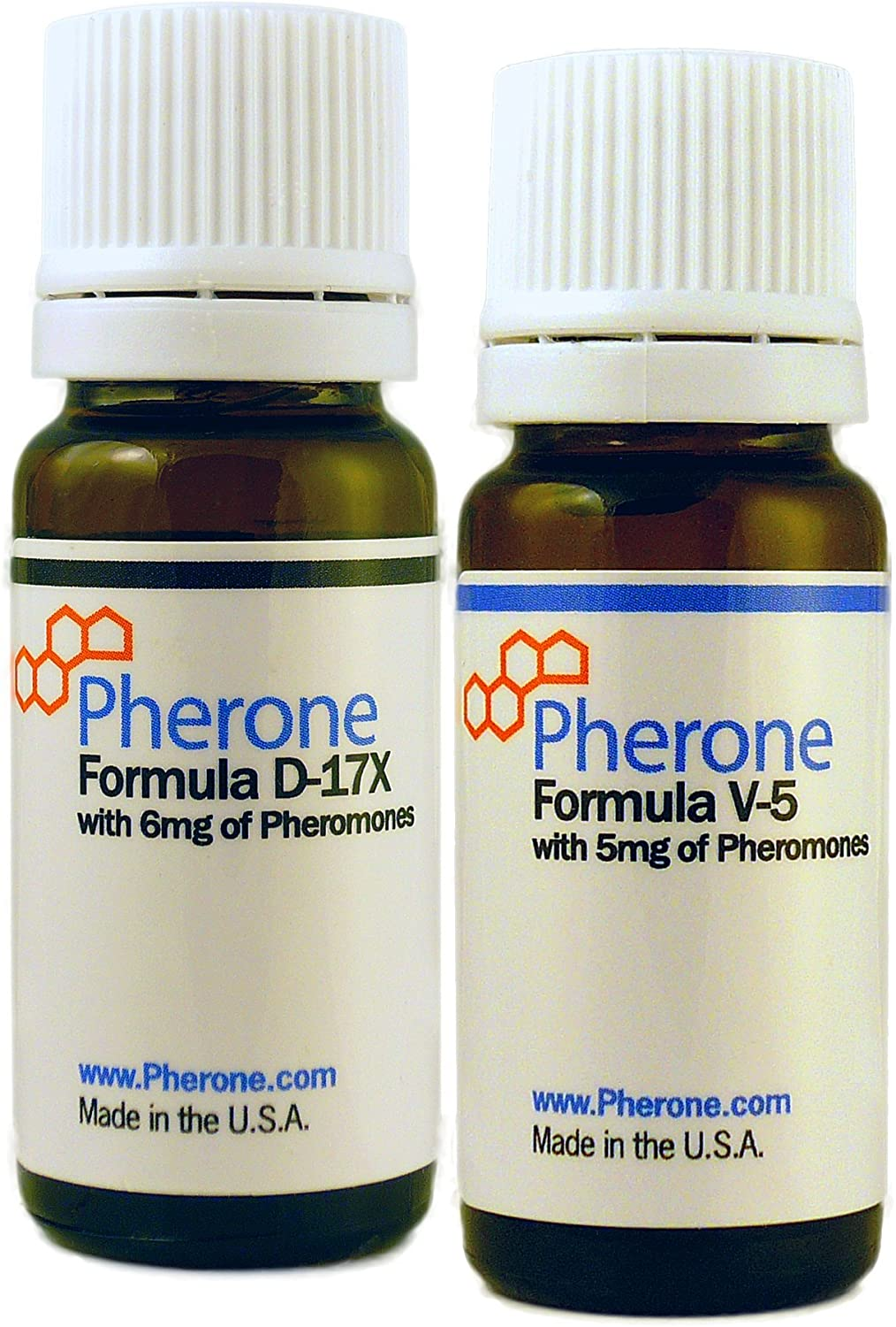 Pherone Special Discounted Bundle B-175 for Men to Attract Women, with Pheromone Cologne Formulas D-17X and V-5 - Pure Human Pheromones