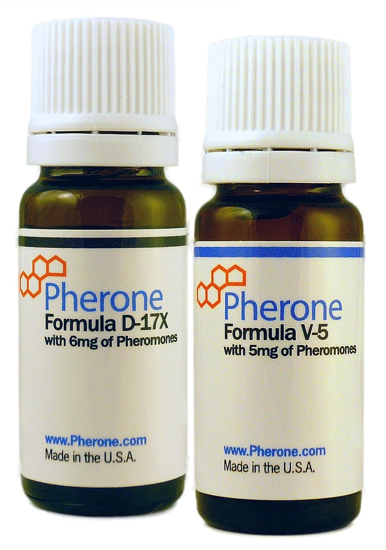 Conjunto Especial con Descuento de Pherone B-175 Colonias de Feromonas Formulas D17X y V-5, con Feromonas Humanas Puras: Amazon.es: Belleza