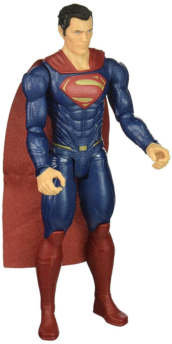 """Mattel DC Justice League True-Moves Series Superman Figure, 12"""""""