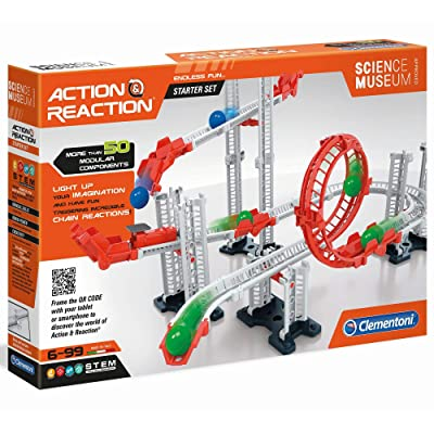 Clementoni Action & Reaction-Starter Set, 52423, Multi-Coloured: Toys & Games
