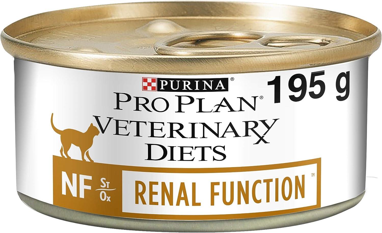 Pro Plan Veterinary Diets Feline NF Función Renal Comida para Gatos 195g - Caja de 24: Amazon.es: Productos para mascotas