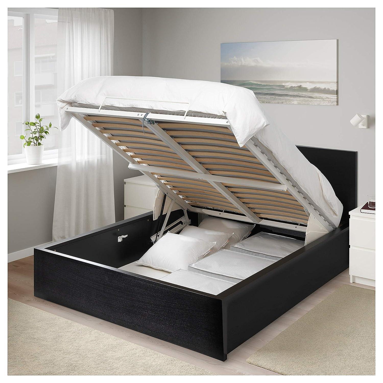 Amazon.com: IKEA.. 304.048.15 Malm cama de almacenamiento ...