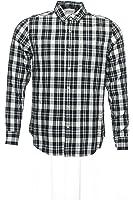 Field & Stream Men's Black Plaid Button Down Shirt