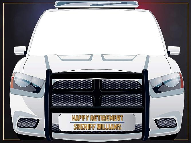 Amazoncom Police Car Photobooth Frame Props Police Police Car