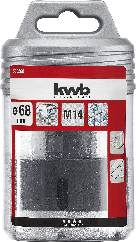 Acero inoxidable KWB 4998-06 Broca de diamante especial 6 mm