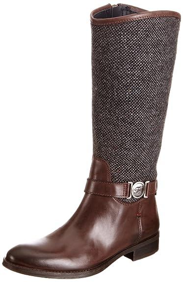 Tommy Hilfiger Damens's Hamilton 3 C Dark Braun Tweed Tweed Braun Mid Calf Stiefel ... 957e1f