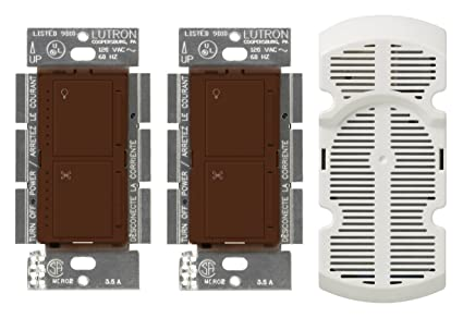 Lutron MA-LFQ3-SI Maestro 300-watt Multi Location Dimmer and Fan Control