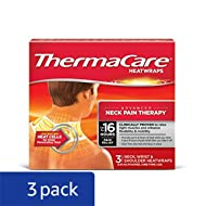 ThermaCare Heatwraps Neck, Shoulder and Wrist, 3 Count (Pack of 3)
