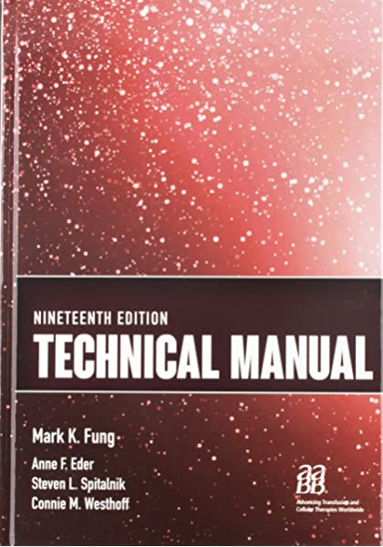 aabb technical manual 19th edition pdf free download