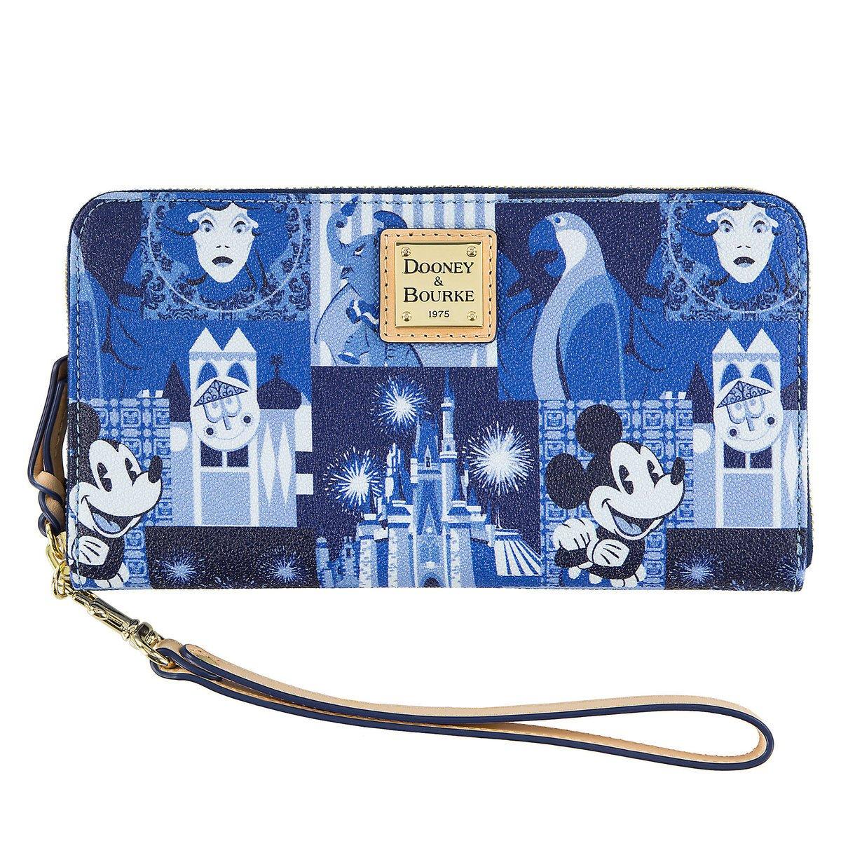 Disney Dooney & Bourke Wallet Wristlet Magic Kingdom 45th Anniversary Bag Purse